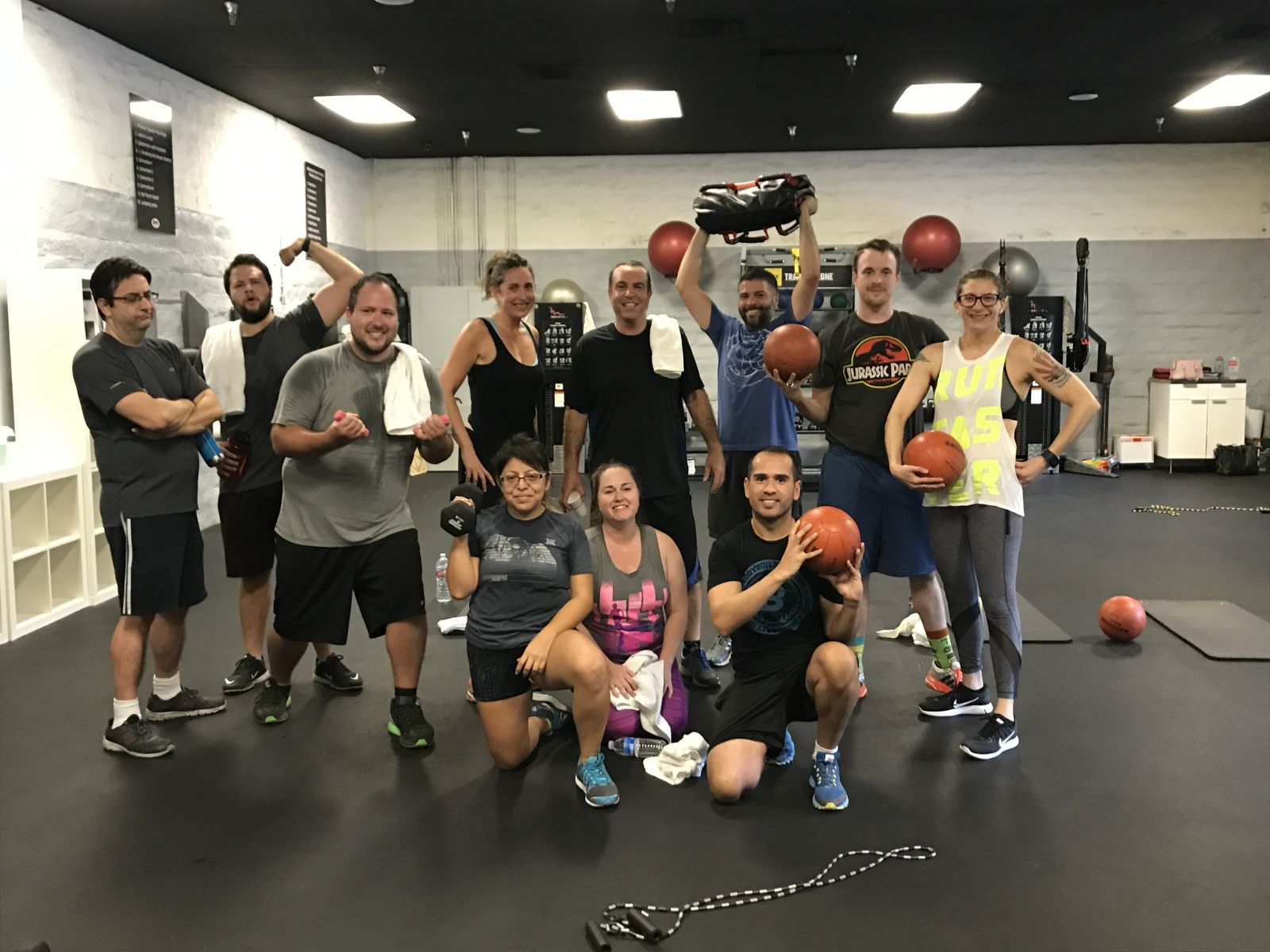 this is an image of people who do encino group training and northridge group training